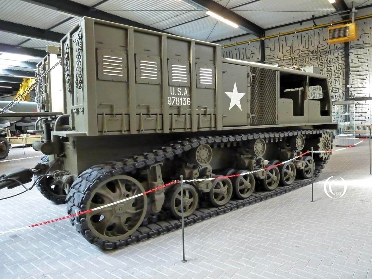 Allis Chalmers M6 High Speed Tractor at War Museum Overloon