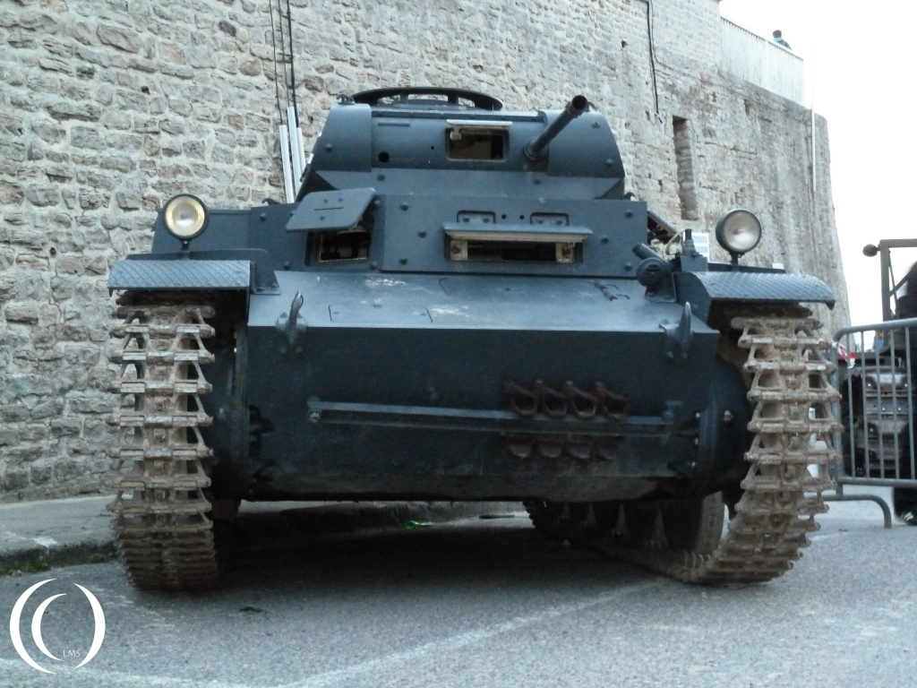 Panzer II Type C in Arromanche 2014