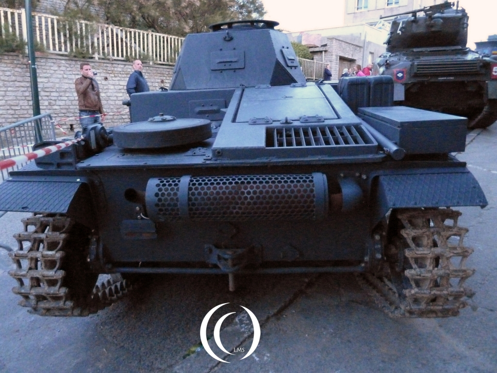 Panzer II Backside in Arromanche - With Phil Wood