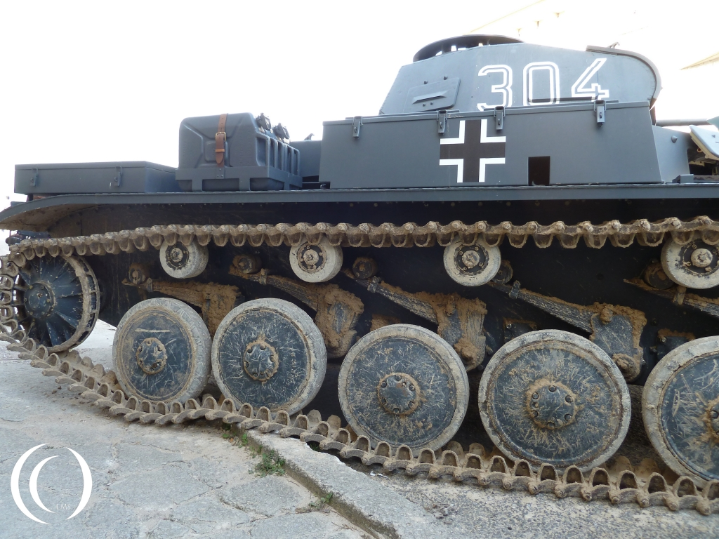 Panzer II in Arromanche June 2104