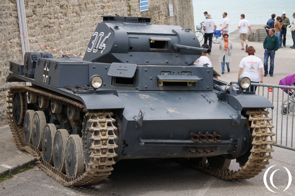 Panzer II - Frontal in Arromanche - By Phil Wood