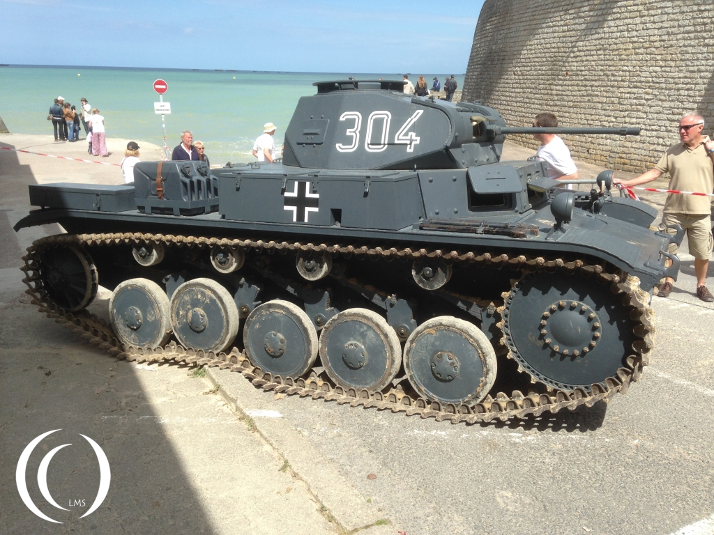 Panzer II - side by Phil Wood in Arromanche