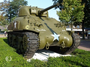 Sherman M4A1 overloon war museum