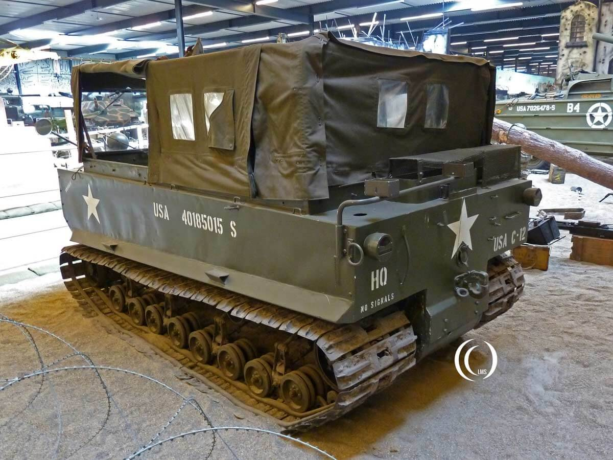 Studebaker M29 Weasel at Overloon