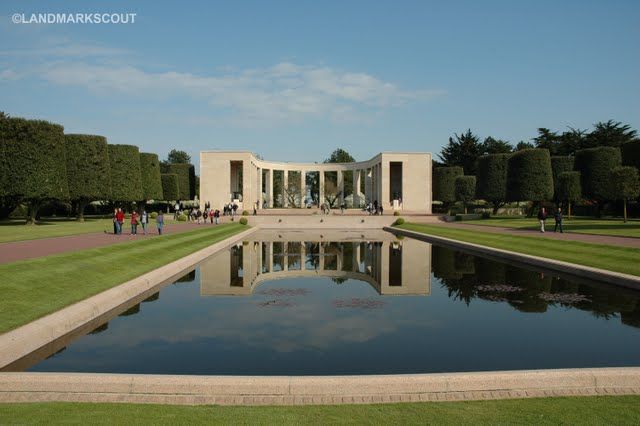 American War Cemetery – Colleville-sur-Mer, Normandy, France