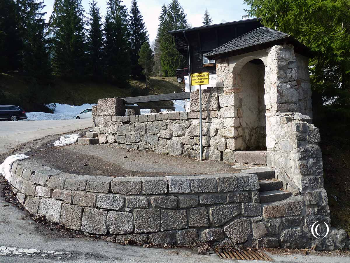 Berghof Guardhouse at Obersalzberg Germany