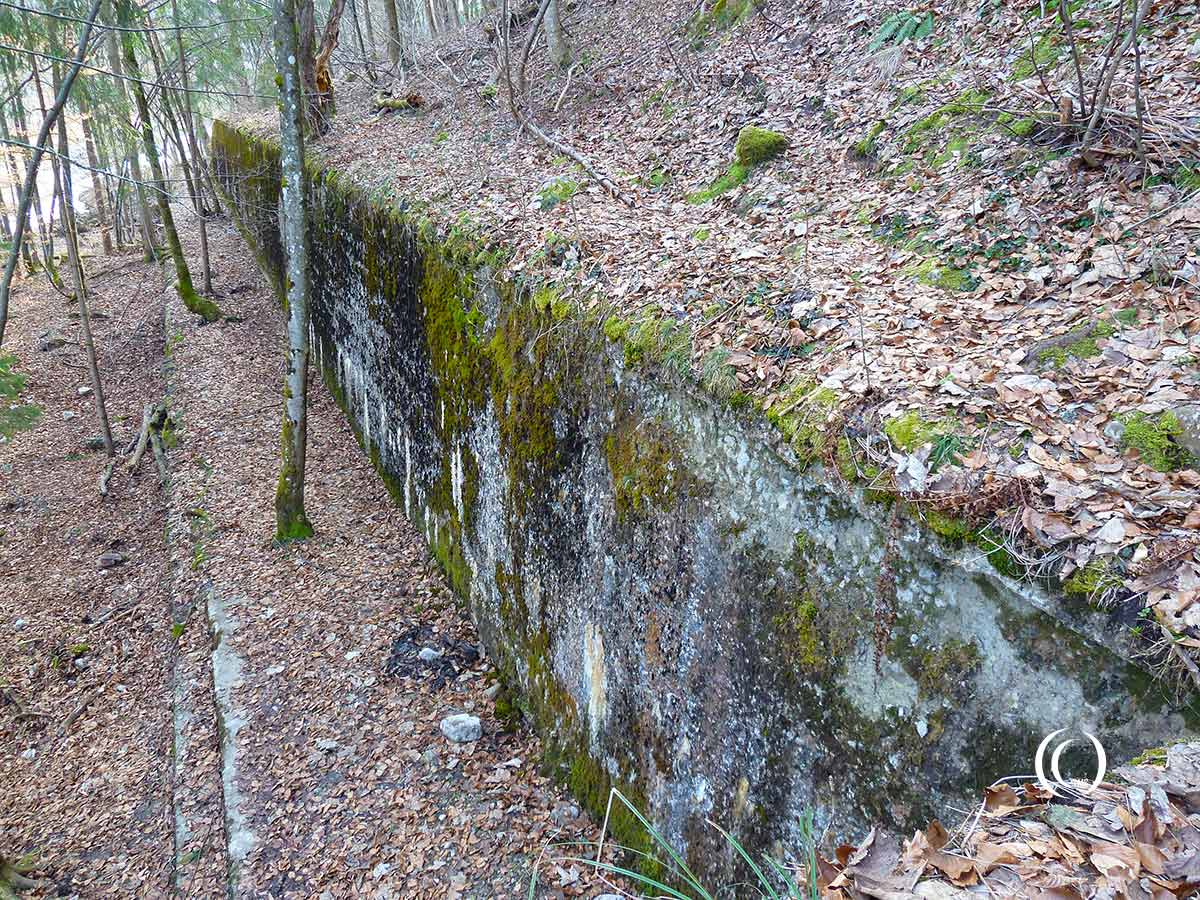 Foundations of former Berghof house Hitler