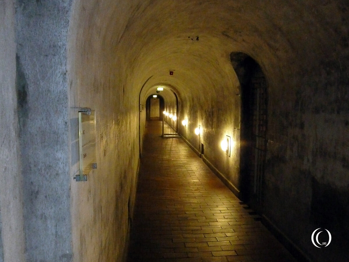 Tunnels under the berghof obersalzberg