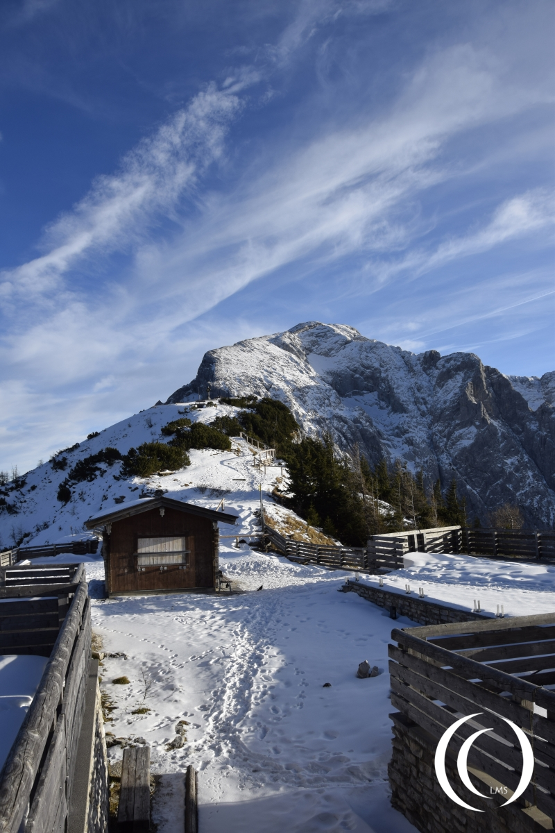 From the Eagles Nest to the Hoher Göll peak, 2522 meters high
