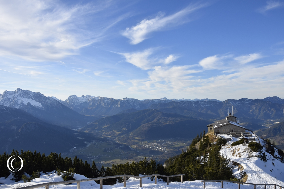 Hitlers Eagles Nest, 1834 meters above sea level