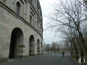 The Congress Hall – The Große Straße & The Electrical Transformer Building at the Nazi Party Rally Grounds in Nuremberg Germany