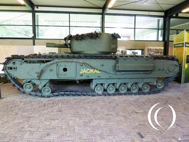 The Jackal; a Churchill tank left behind in the forgotten Battle of Overloon