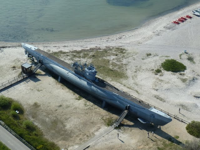 U-boat U995 Type VII C at Laboe, Germany