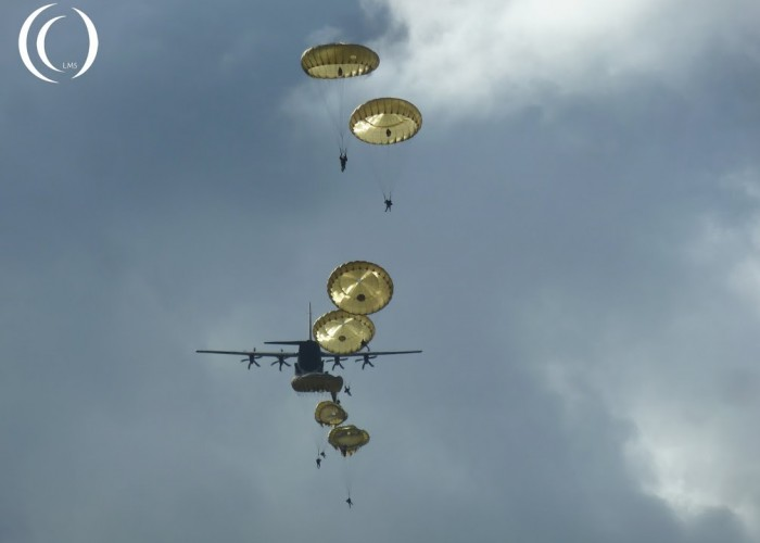 The 68th remembrance of Operation Market Garden, Dropzone Ede / Ginkel