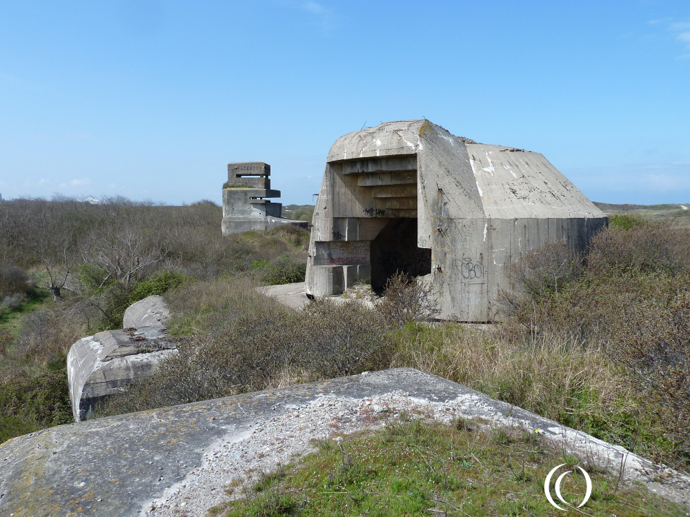 Battery Waldam, a unique defender on the Atlantic Wall - France