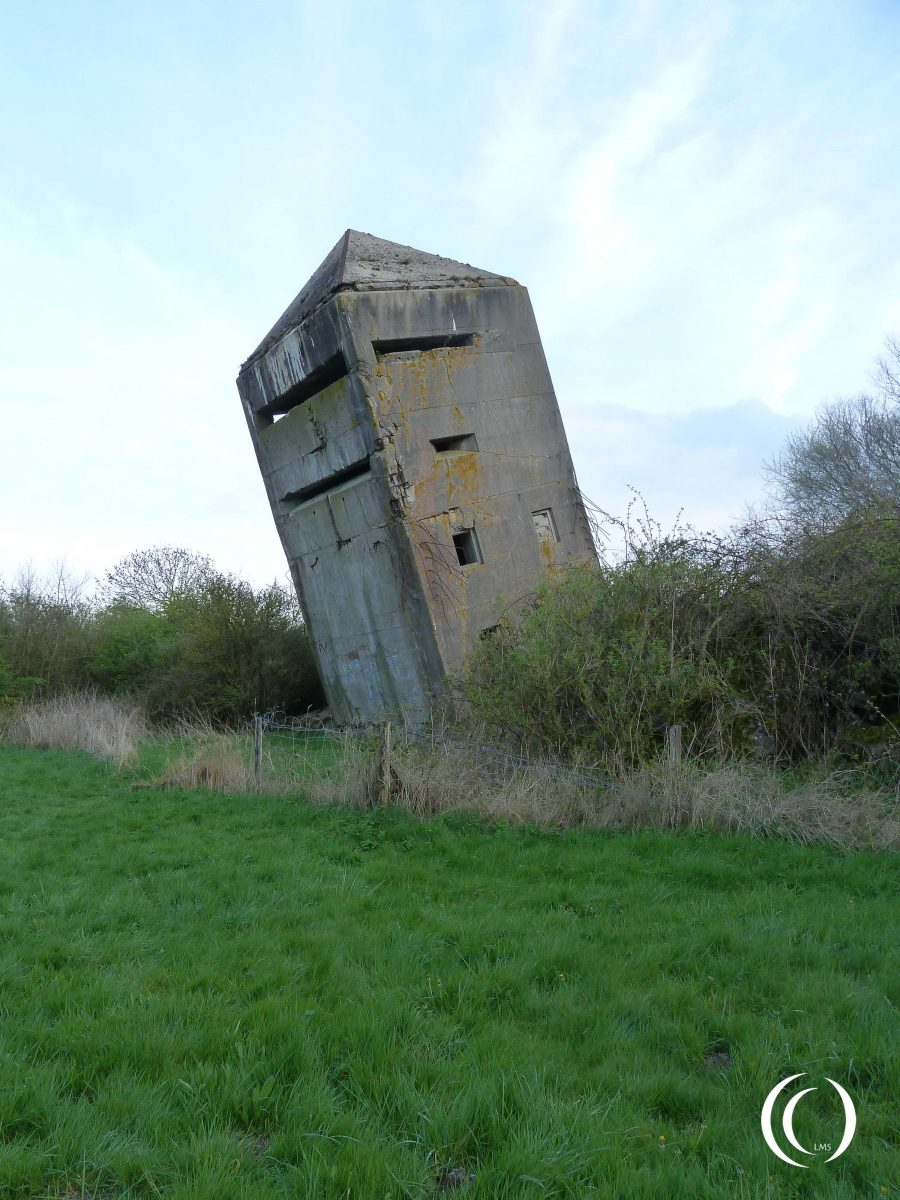 Battery Oye Plage - Fire Control bunker concealed as church