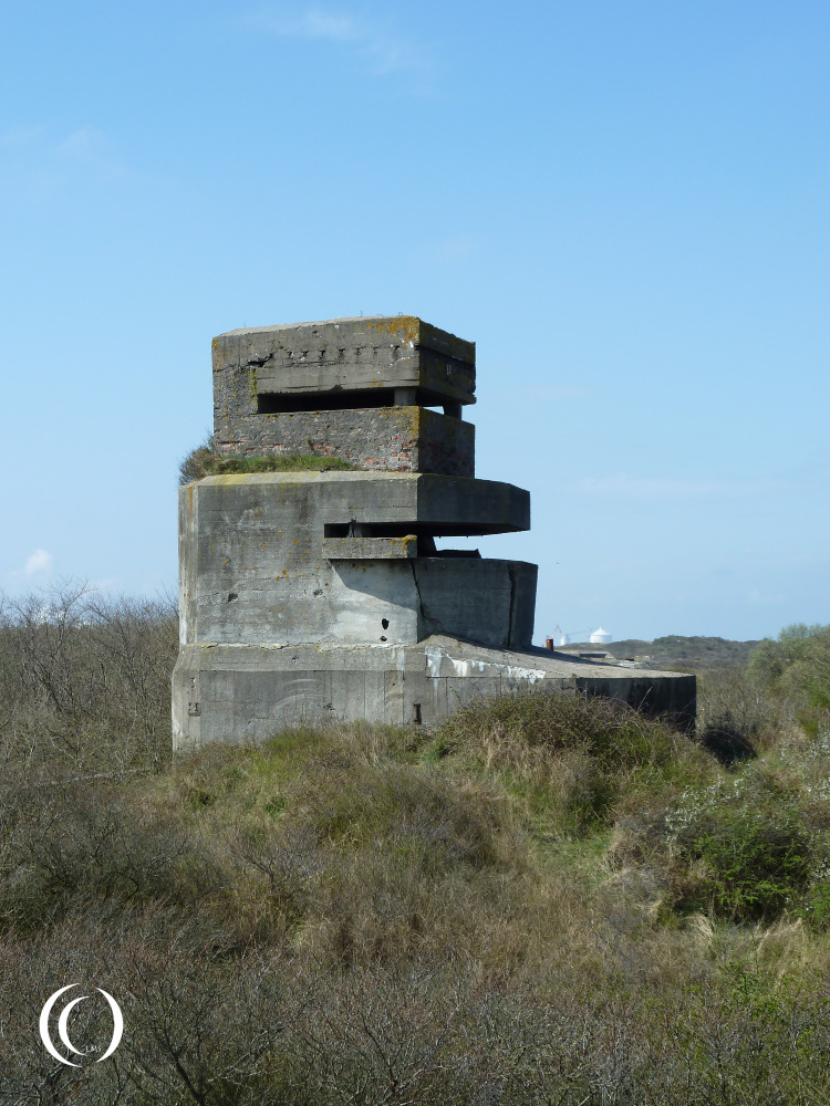 The Fire Control Bunker of Battery Waldam