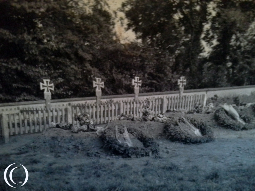 The graves are dated 20 September 1942, exact location unknown