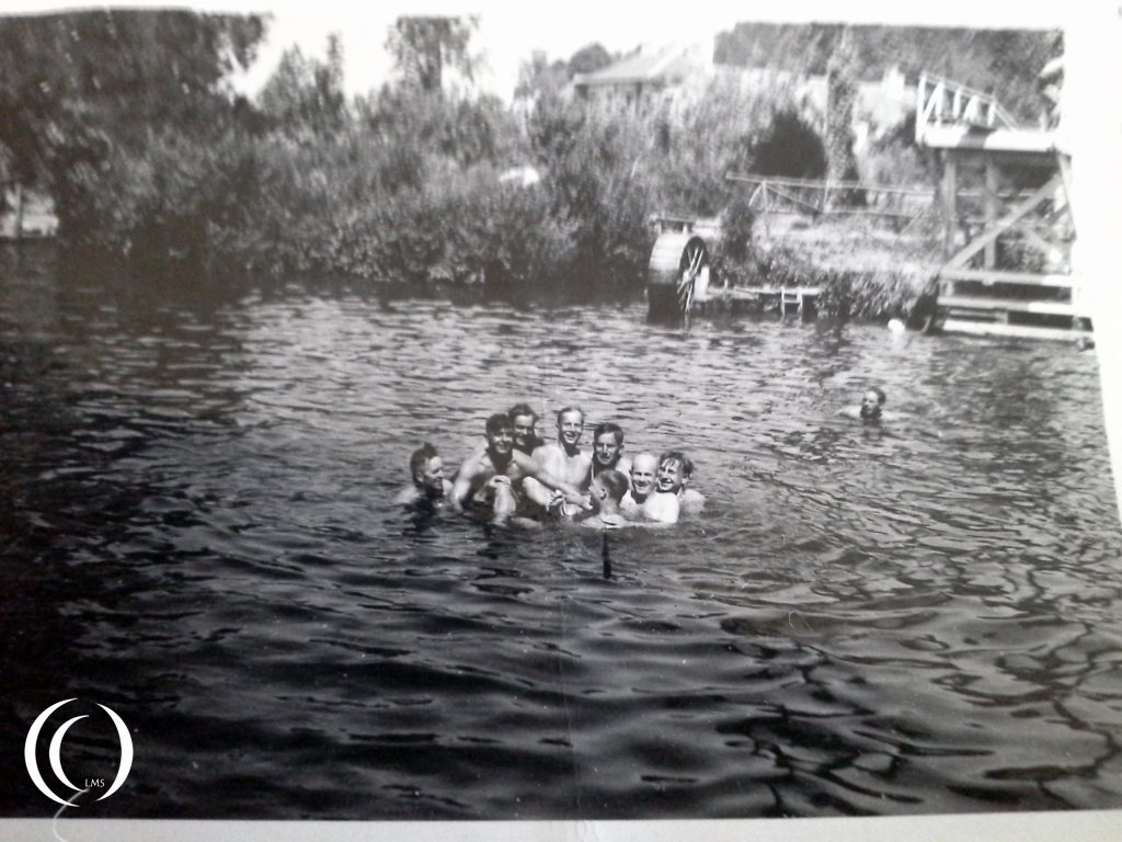 Bathing with the company on the 2nd of August 1942