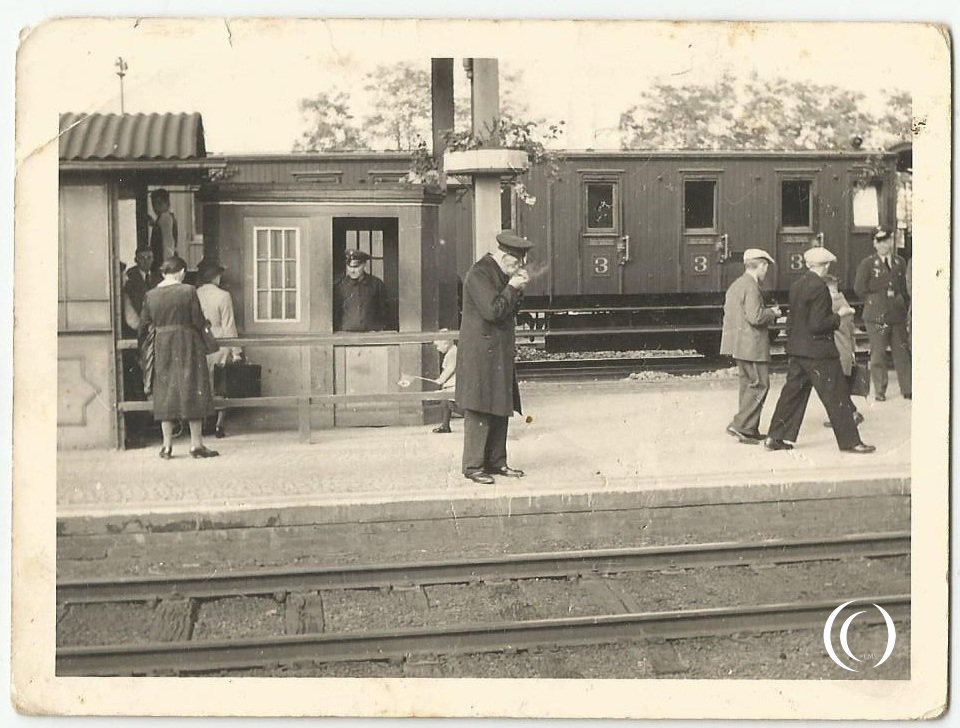 Gross Kunzendorf train station 1934