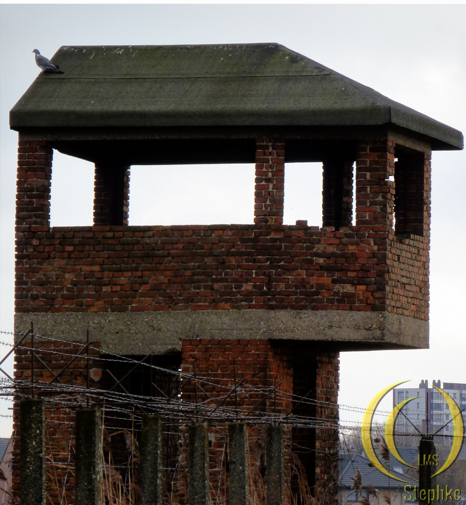 A guard tower.