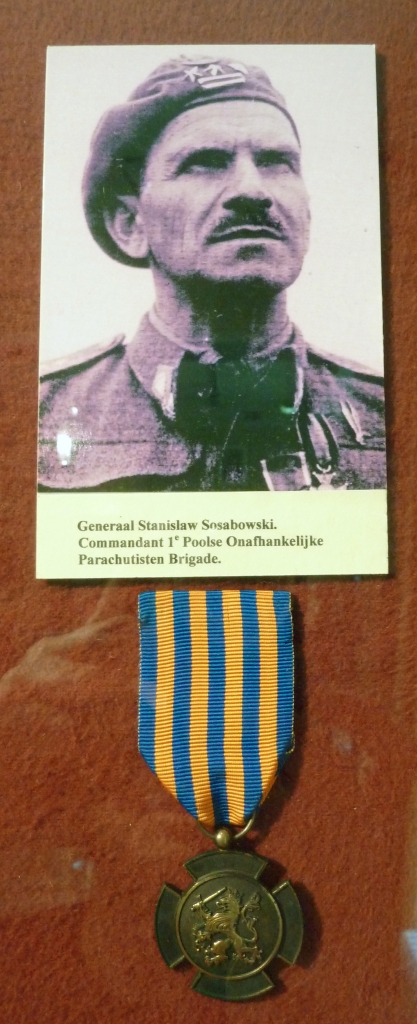 General Stanislaw Sosabowski, Commander of the 1st Polish Parachute Brigade