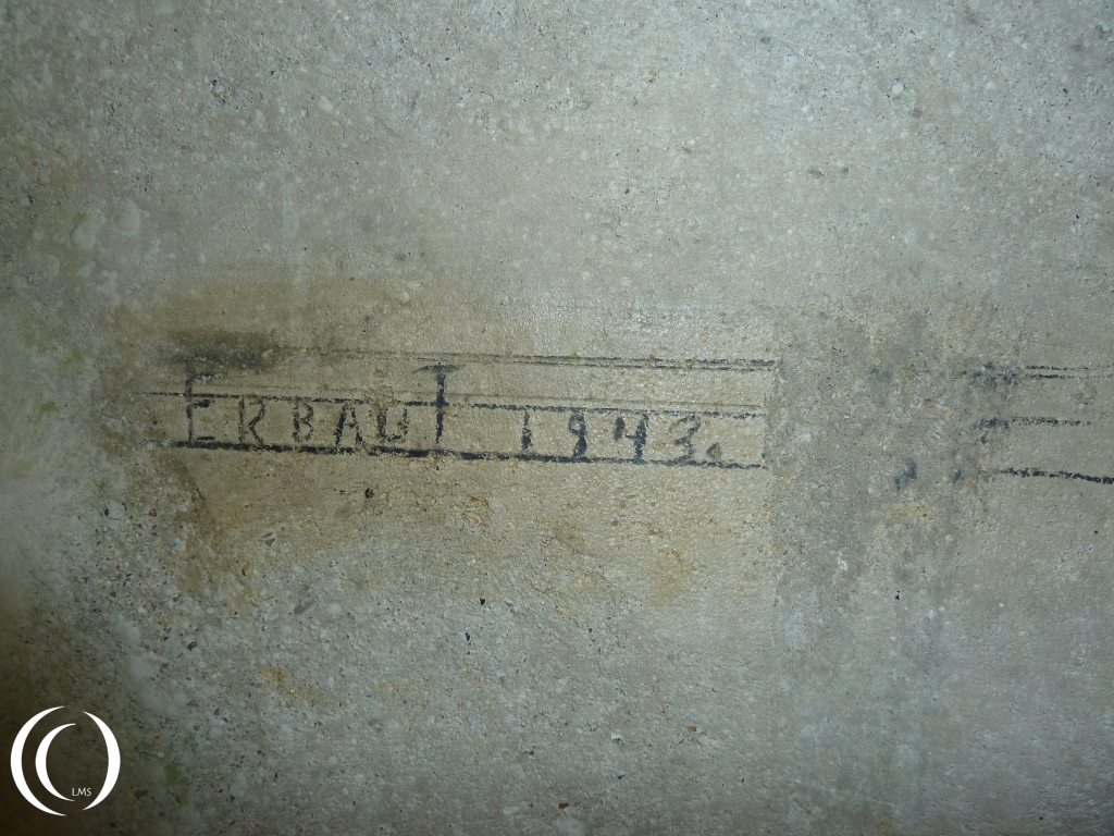 Text left behind in 1943