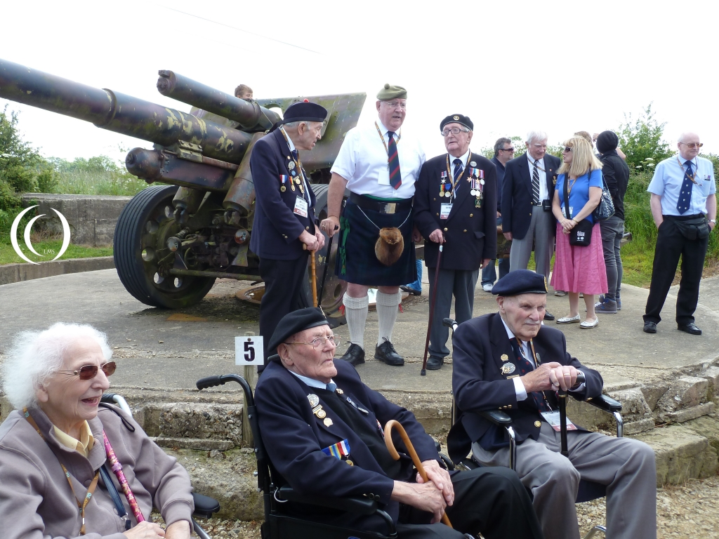 Veterans in the Maisy Battery