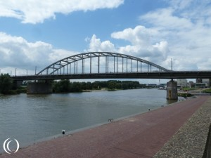 The John Frost Bridge, Operation Market Garden in Arnhem – Netherlands