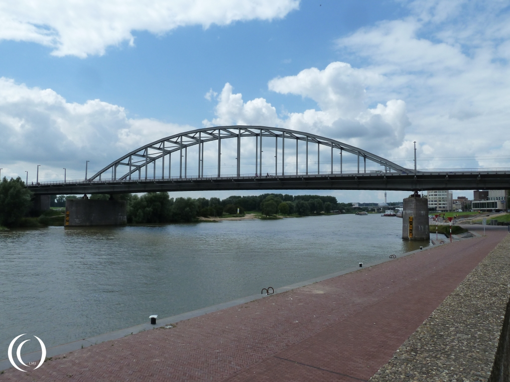 The John Frost Bridge, Operation Market Garden in Arnhem - Netherlands
