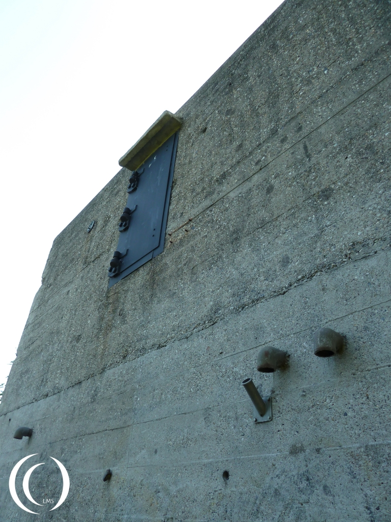 South Casemate, Gun maintenance hatch