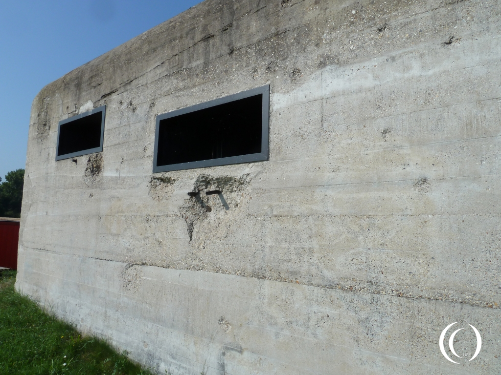 North Casemate, frontal view