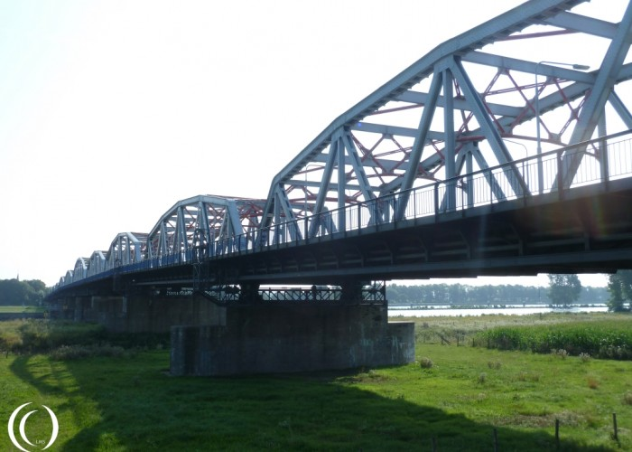 The John S. Thompson Bridge, the 11th bridge of Operation Market Garden near Grave in the Netherlands