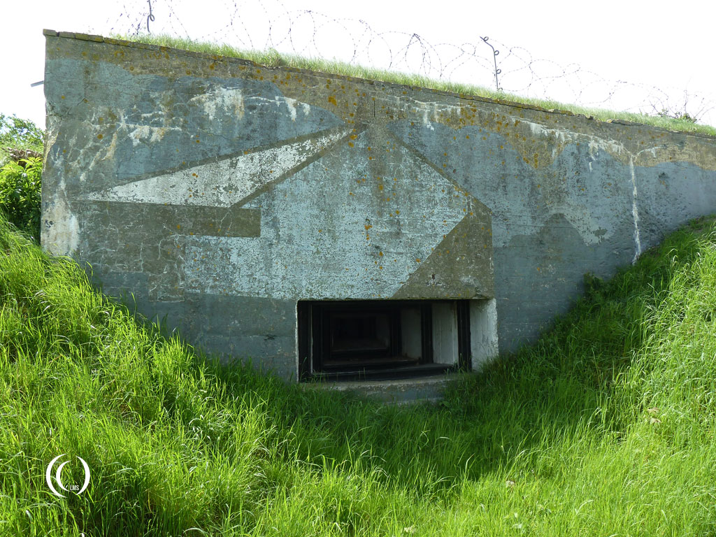 MG position of casemate IV - Kazemattenmuseum Kornwerderzand, the Netherlands