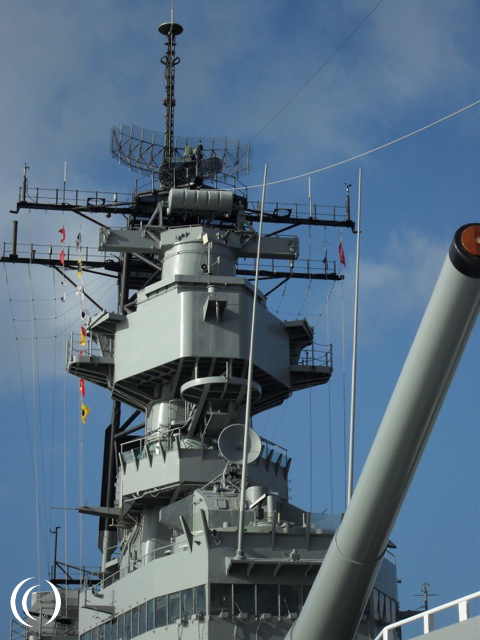 USS Missouri Bridge- photo by Peter Vermeulen