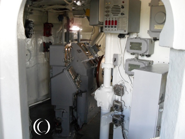 USS Missouri inside view - Photo by Peter Vermeulen