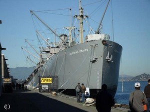 Liberty Ship SS Jeremiah O'Brien and Submarine USS Pampanito – San Francisco California United States of America