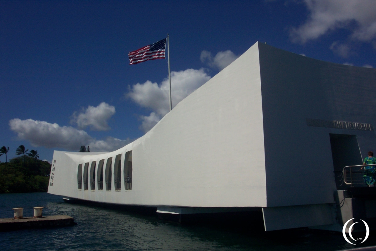 USS Arizona Memorial - Photo Marcel Langeslag