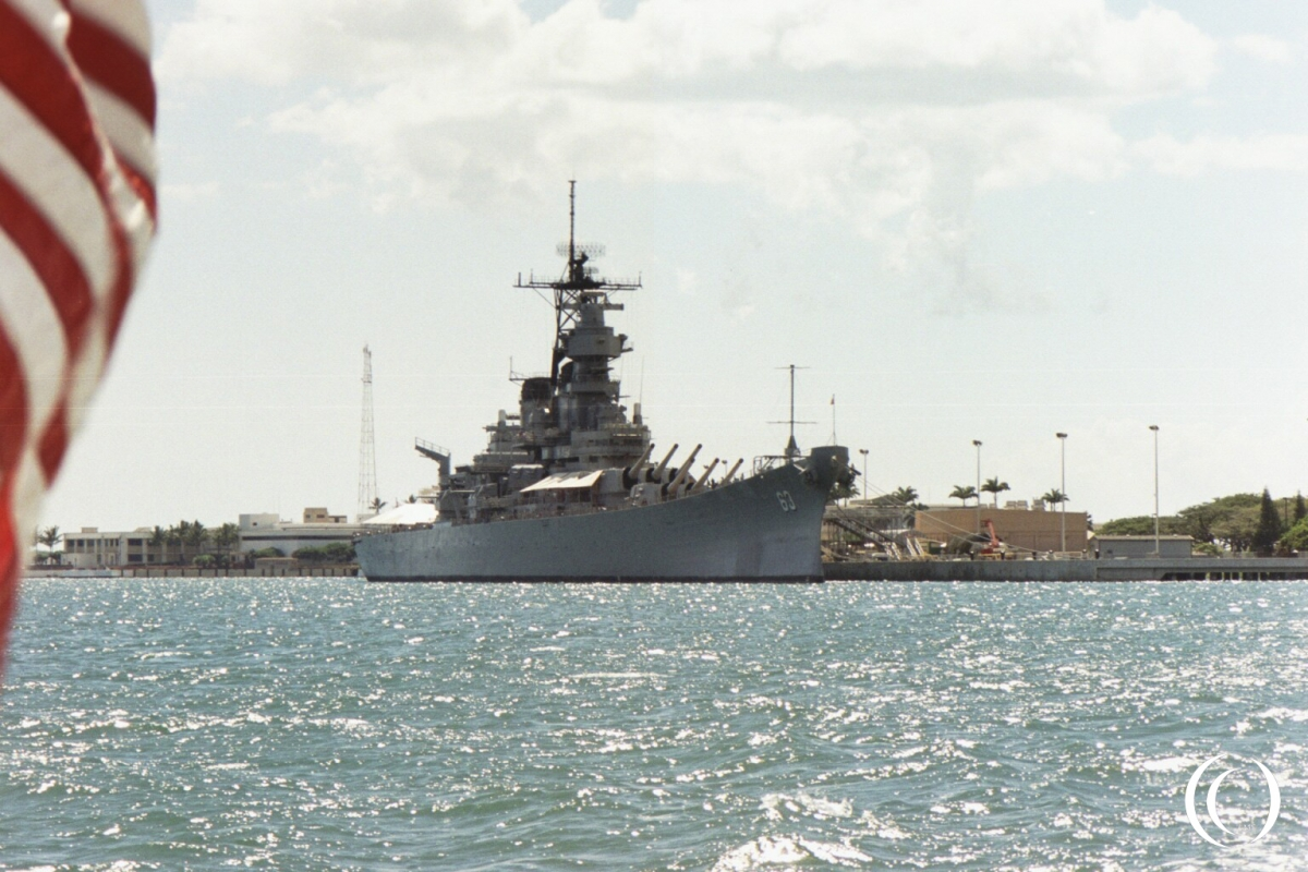 USS Missouri - Photo Marcel Langeslag