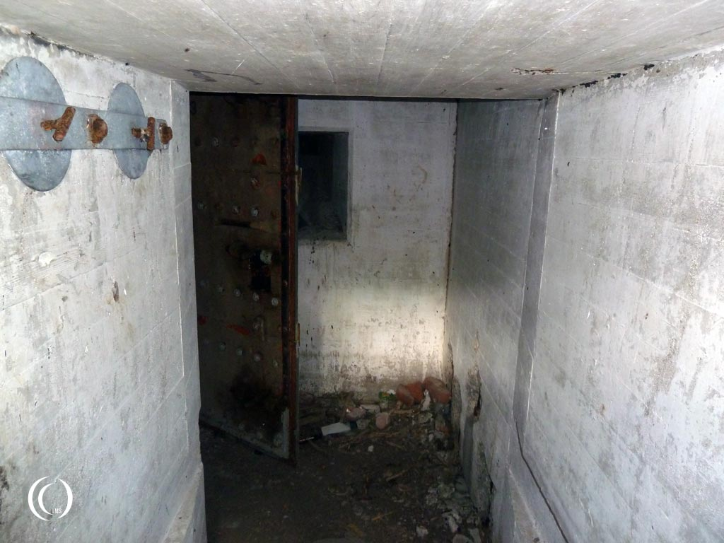 View inside casemate XI