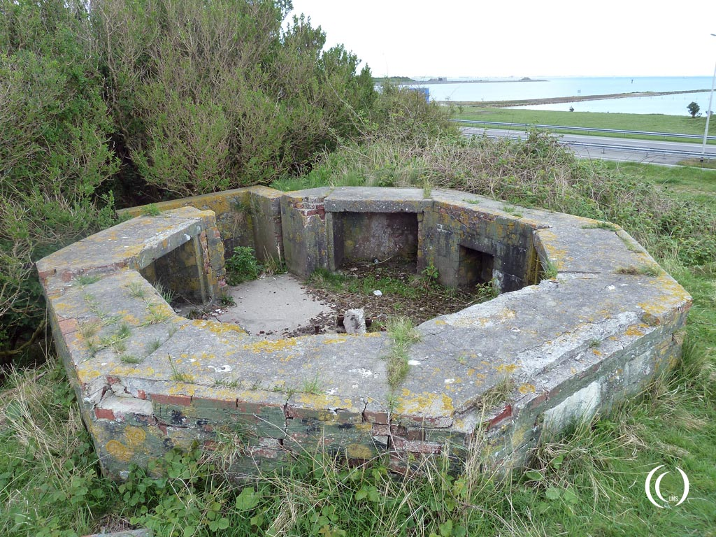 German FLAK emplacement