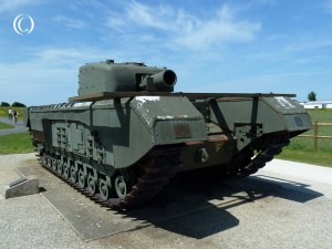Churchill AVRE Mk. IV Tank – Lion-sur-Mer, Normandy, France