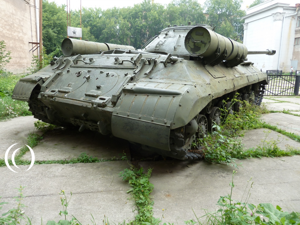 Back of the IS-3 Yekaterinburg Russia