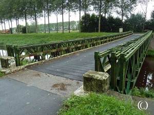 Operation Switchback – A Bailey-bridge left behind in Maldegem, St Laureins, Belgium