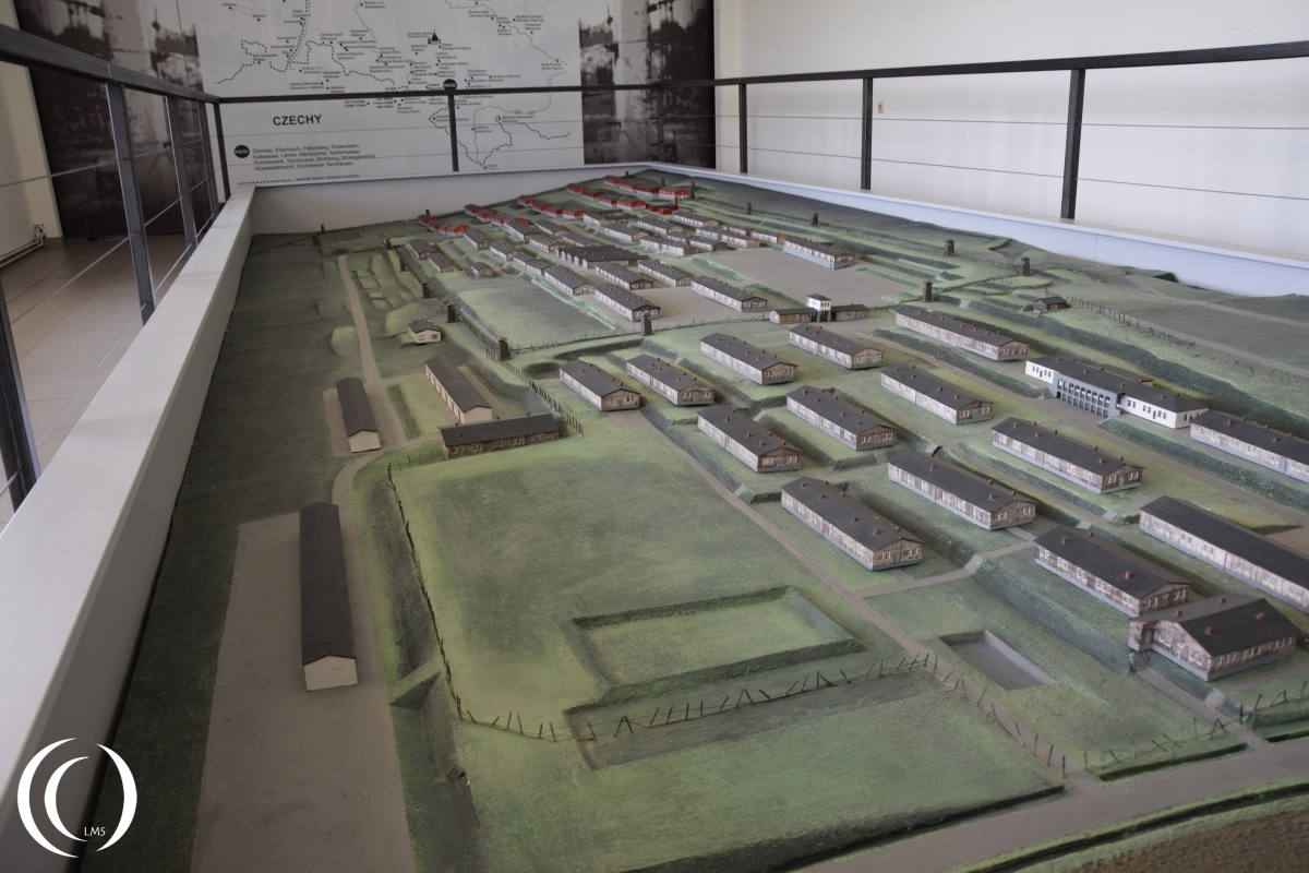 Layout of the Gross-Rosen Concentration camp