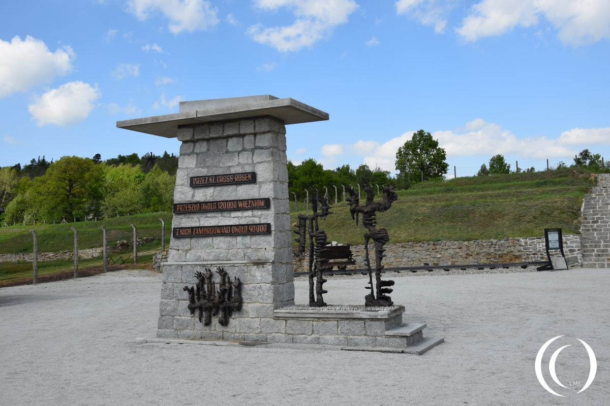 Concentration camp Gross-Rosen victim memorial