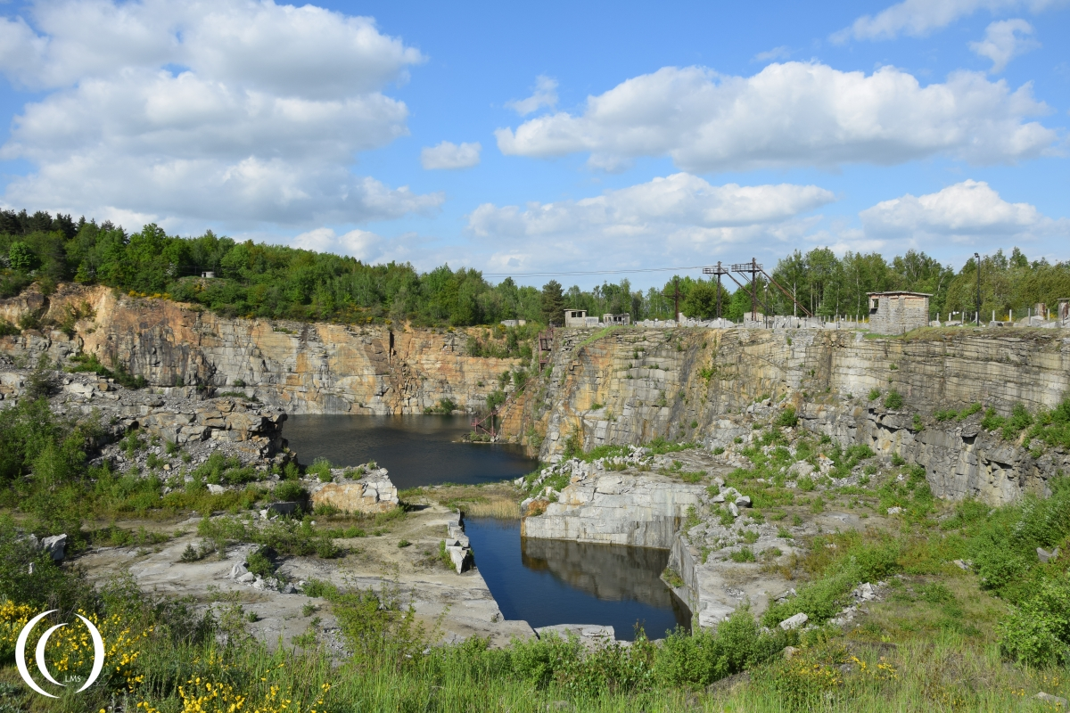 The stone quarry of Gross-Rosen