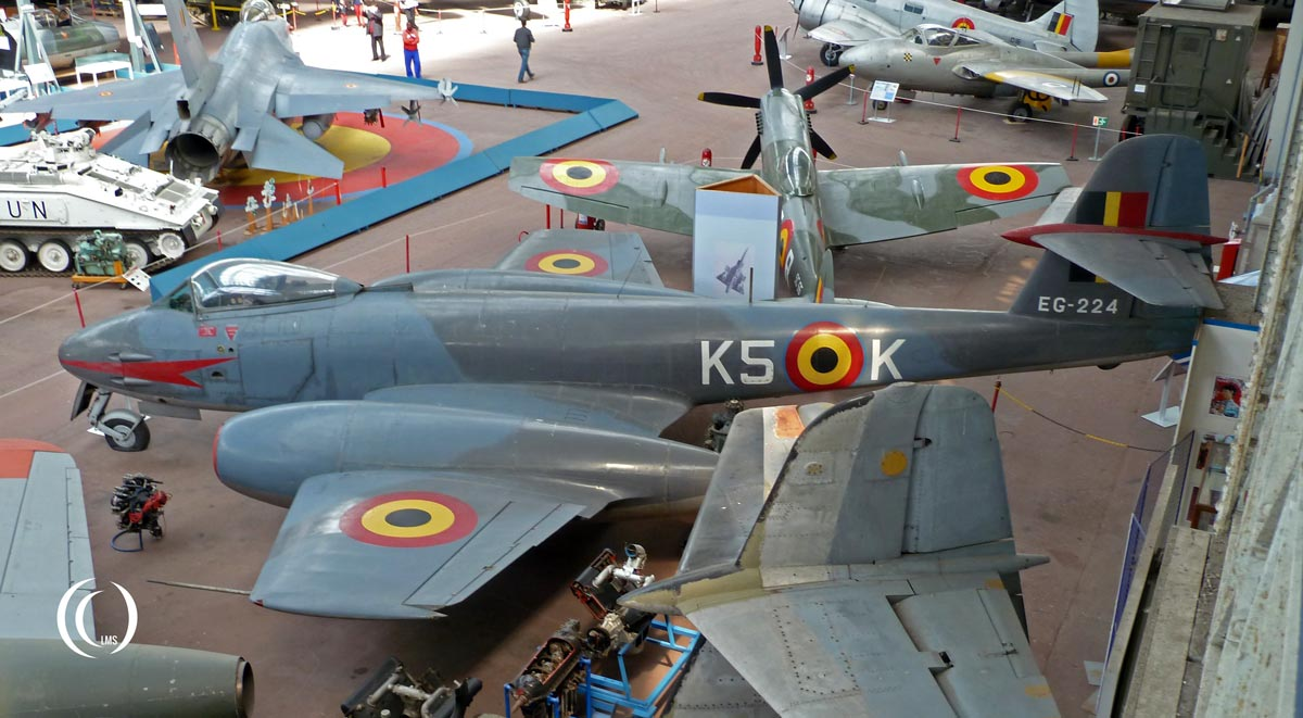Gloster-Meteor-F-8-Brussels