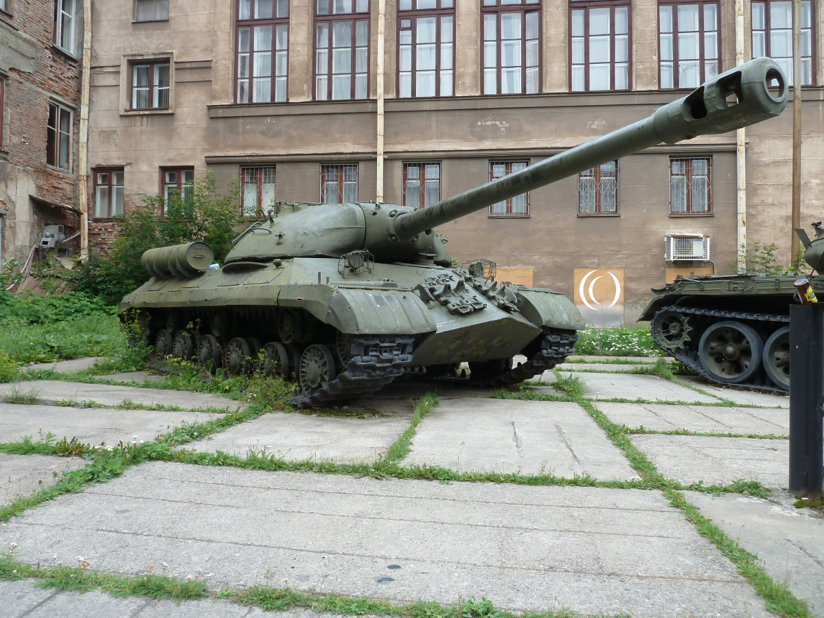 IS-3 Military Historical Museum of the Volga - Ural Yekaterinburg Russia