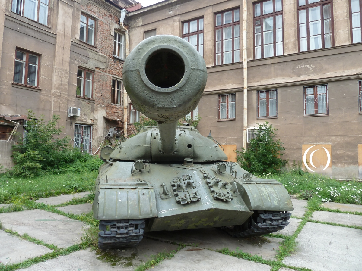 IS-3 or Joseph Stalin 3 in Yekaterinburg Russia